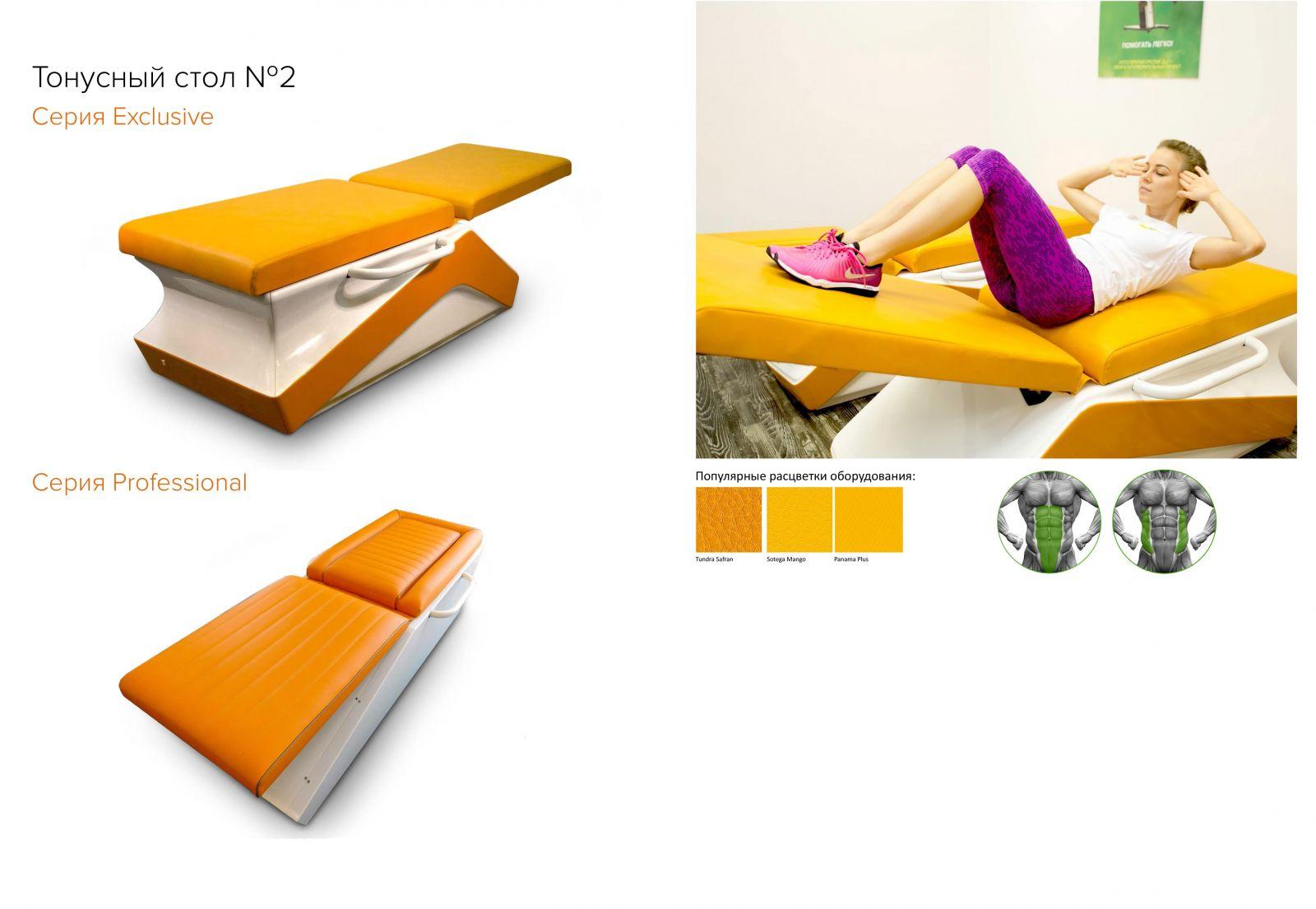 Тонусный стол для мышц живота